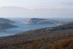 Most nad morzem Obrazy Royalty Free