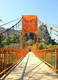 Most nad Pieśniową rzeką Obrazy Royalty Free