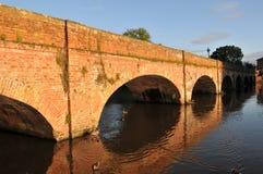 Most nad Rzecznym Avon Zdjęcie Royalty Free
