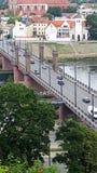 Most nad Rzecznym Nemunas Obraz Stock