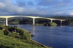 most nad rzeką Obraz Stock