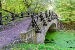 most nad rzeką Obraz Royalty Free