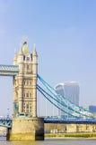most nad rzeka Tamiza wieży Obraz Royalty Free
