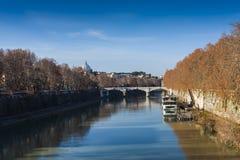 Most nad Tiber, Zdjęcie Stock