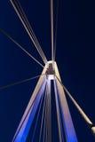 Most nad wodą Obrazy Stock