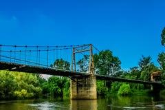 most nad wodą Fotografia Stock