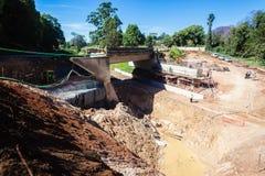 Most Naprawia inżynieria wodno-lądowa Obraz Stock