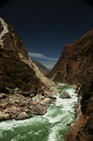 Torrent of Tiger Leaping Gorge Royalty Free Stock Photo