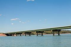 Most nawadnia Missouri rzeka, usa Zdjęcia Royalty Free