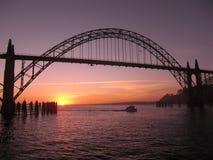 Most, Newport zdjęcie stock