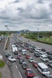 Most Normandy, Le Havre Francja, Maj, - 04, 2018: Autostrada Fotografia Stock