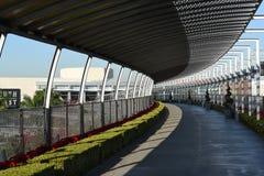 Most ogródu południowego wybrzeża plac Zdjęcia Stock