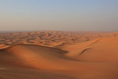 The desert of the United Arab Emirates Stock Photos