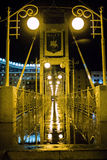 Most po deszczu Zdjęcia Stock