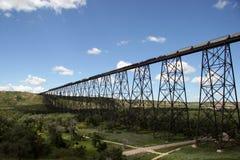 most pociąg Fotografia Royalty Free