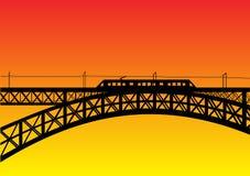 most pod ziemią ilustracji