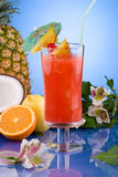 Most popular cocktails series - Hurricane Royalty Free Stock Image