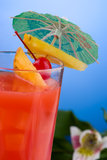 Most popular cocktails series - Hurricane Royalty Free Stock Photography