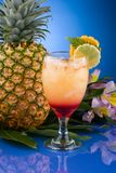 Most popular cocktails series - Mai Tai Royalty Free Stock Photos