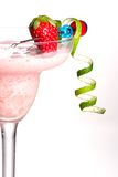 Most popular cocktails series - Strawberry Colada stock images