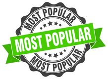Free Most Popular Seal. Stamp Royalty Free Stock Images - 119899439