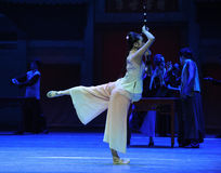 The most precious instrument-The first act of dance drama-Shawan events of the past Royalty Free Stock Image
