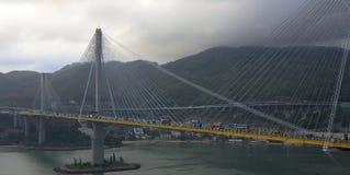 Most przez dennej zatoki Zdjęcie Royalty Free