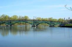 Most przez jezioro Obraz Royalty Free