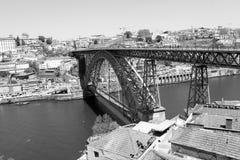 Most przez rzekę zdjęcia stock