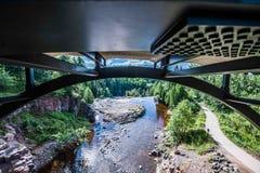 Most przy Agrestowymi spadkami Zdjęcie Stock