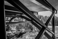 Most przy Agrestowymi spadkami Zdjęcia Stock