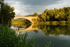 Most przy Greoux les Bains Obraz Royalty Free