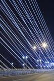 Most przy noc Obraz Stock