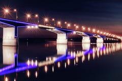 Most przy nocą Obrazy Stock