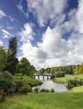 Stourhead ogródy Obrazy Stock