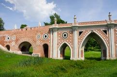 Most przy Tsatitsino zdjęcia stock