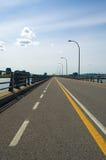 most roweru lane Zdjęcia Royalty Free