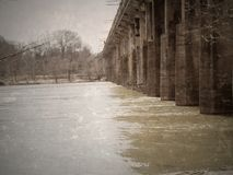 most się Fotografia Royalty Free