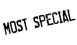 Most Special rubber stamp Royalty Free Stock Image