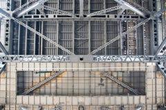 Most: Stal i beton Zdjęcie Royalty Free