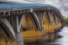 Most Stary zniszczony most Fotografia Stock