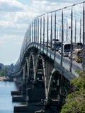 Most Stary zniszczony most obrazy royalty free