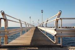 most tęsk drewniany Zdjęcia Stock