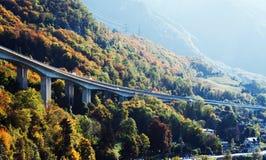 most tęsk Montreux Obraz Royalty Free