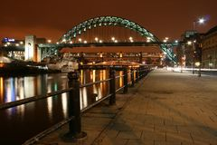most Tyne rzekomego pomoru drobiu Obrazy Stock