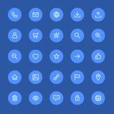 Most used webdesign icons, ui set Stock Images