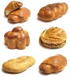 The most various bakery products Stock Photography