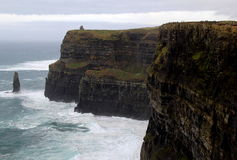 Most visited natural attraction,Cliffs Of Moher,County Clare,Ireland,Fall,2014 Stock Image