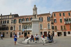 Most visiting place in Venice !!. Beauty in Italy Stock Photo