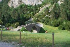 Most w ścieżce Zdjęcia Stock